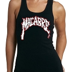Macabre Girls Black Tank Top