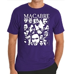 Ted Bundy Collage Purple T-Shirt  - LARGE ONLY - LAST ONE