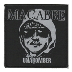 "Macabre 3.5"" Woven Unabomber Patch"