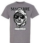 Macabre Unabomber Gray T-Shirt