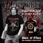 Nightstalker Double-Sided T-Shirt  SIZE: S or 4X